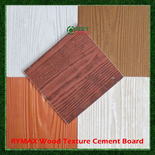 Wood Cement Board : Rymax wood texture cement board wall panel fiber