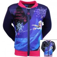 Jackets La Reine des Neiges from 2 to 8 years old
