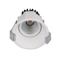 7W LED COB down light project used round rimless down light LED CE ROHS SASO KUCAS certificate