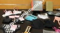 Packs de lingerie 477 pièces