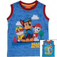 Tank top Paw Patrol from 2 to 6 years old