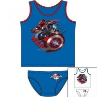 2 pieces Captain America 2 to 8 years old