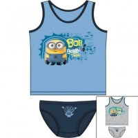 2 pieces set Minions from 2 to 8 years old