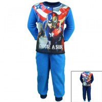 Captain America polar fleece from 2 to 8 years old