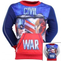 Captain America Sweat from 3 to 8 years old
