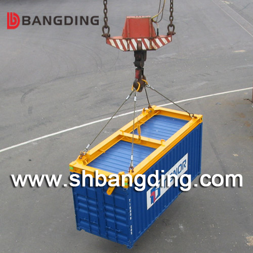 40 feet port container spreader lifting frame I type hydraulic Import