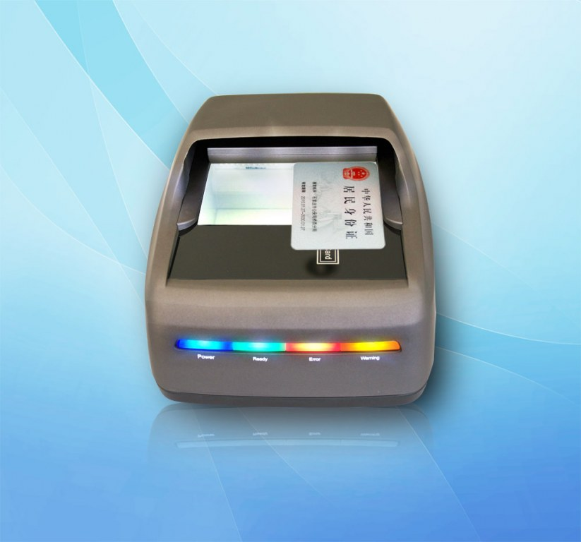 Full page document reader passport scanner for immigration