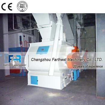 CE Certificated Double Shaft Cattle Feed Molasses Mixer