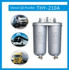 Efficient diesel oil filter