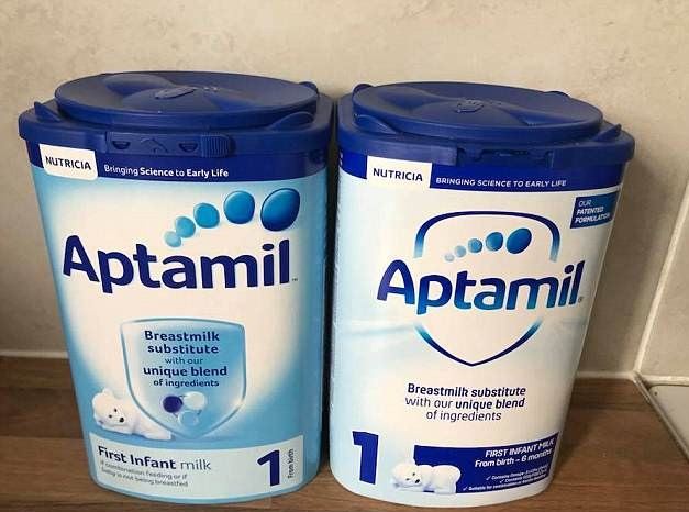 Nutrilon Aptamil Cow Amp Gate Infant Baby Milk Powder