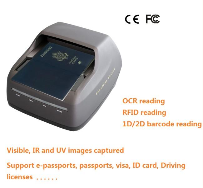 High- Speed Passport Scanner Wintone Import Export