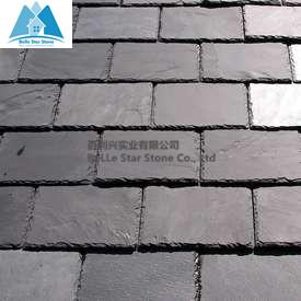 Black Dark Grey Slate Roofing Tile Import Export