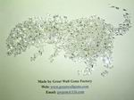 Cubic zirconia rectangle,CZ rectangle,cubic zirconia rod,CZ rod
