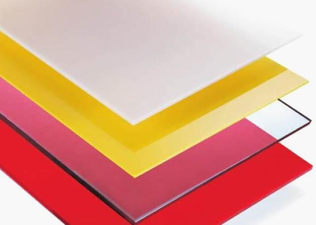 Color polycarbonate sheet 48\