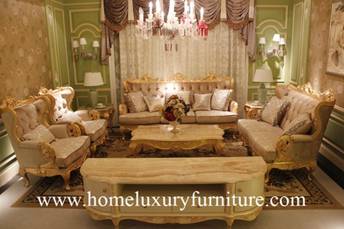 Set sofa Hot sale in furniture fair Classic Italian Style ...