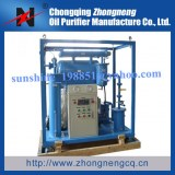 Single-Stage Vacuum Waste Transformer Oil Refinery Plant