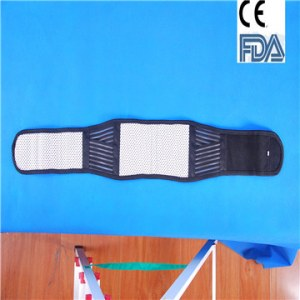 Waist support orthotics brace