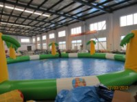 2014 China funny commercial inflatable water pool for kids