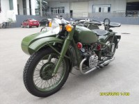 Classic Changjiang 750cc Motorcycle with Sidecar
