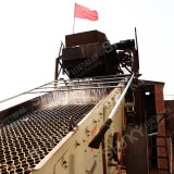 Energy saving high frequency vibrating screen of easy operation