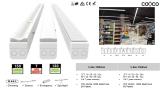 Linear light system for supermarket