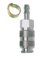 1 Coupleur cannelé tuyau 6x11 Mecafer 156426
