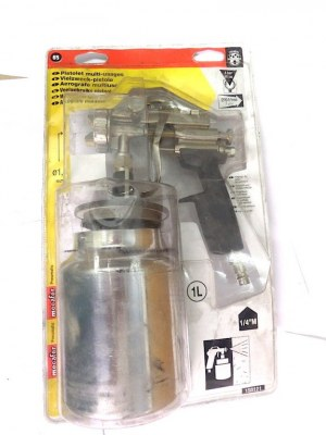 1 Pistolet UR/1 multi-usages buse de 1,4 mm Mecafer 150121