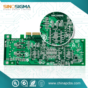 Free Sample PCB with FR4 Material 1.5 OZ Cooper 1.6 mm Thickness Quality Electronic