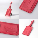 Women PU Leather Luggage Tag