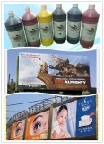 Factory supply Eco solvent dye ink for self adhesive vinyl
