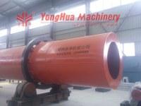 Hot air wet sawdust dryer machine