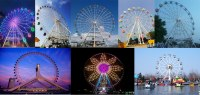 Wheel Ferris manufacturers High roller Amusement rides Ferris wheel for sale