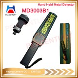 High sensitivity adjustable hand held metal detector with 9V battery