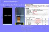 5-inch LCD small size LCD display IPS type 480854, 500nit, 40pins RGB interface