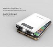 6000mAh Dual USB Power Bank Dashboard Display