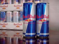 Austria Original Red Bull Energy Drink 250 ml can, fresh production.