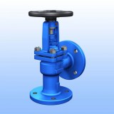 DIN ANGLE BELLOWS GLOBE VALVE
