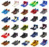 Lot de chaussures d'echantillons en taille unique