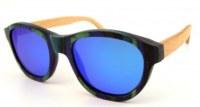 Wood frame sunglasses TAC polarized Revo Lens