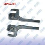 Tailboard fastener dropside locking gear
