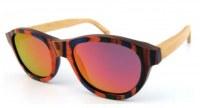 Skateboard wood sunglasses Polarized Revo lens