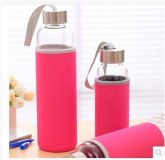 Glass juice container