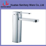 Single handle brass body basin faucet