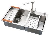 Stainless steel sink DHRseries