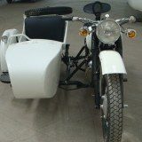 Electric Sidecar Three-wheeled Motorcycle Vehicle