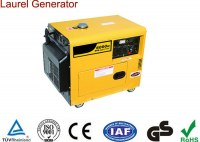 Automatic Voltage Adjustor 5kw Silent Diesel Generator Patent Design with Fuel Meter /...