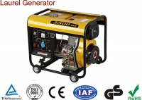 Pro-grade Engine Diesel Generators 4.5KW Air-cooled Start Easily Widely-used for Home...