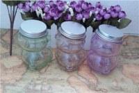 Wholesale glass jars lids