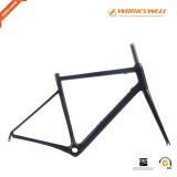 OEM service carbon frame custom V-brake full carbon china 700C bicycle frame set
