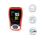 Adult High Configuration Handheld Pulse Oximiter Easeai Heart Rate SpO2 Compatible Nell...
